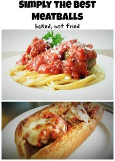 The World's Best Meatball: Create a low-fat oven baked meatball that will hands down be the best meatball you ever have.