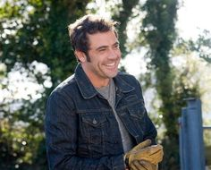 Jeffry Dean Morgan is the best part of p.s. I love you.  And that's saying alot since Gerard Butler is in it too...