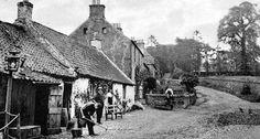 Tour Scotland Photographs: Old Photographs Gateside Scotland