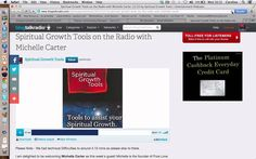 http://www.spiritualgrowthtools.co.uk Spiritual Growth Tools on the Radio welcomes Michelle Carter.  Please Note - I apologise for the sound quality in advance. We had gremlins!  Michelle is the founder of Pure Love Forever which is a vision for a world where everyone feels so happy they smile for no reason and random acts of kindness are the norm! She believes all this can be achieved through Energy Releasing! http://www.pureloveforever.com