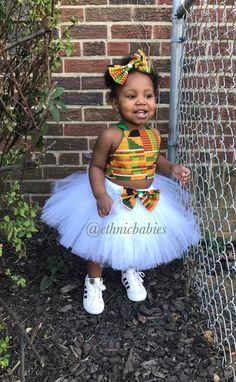 Kente Tutu/ African fabric Tutu skirt/tutu dress/ethnic tutu/ Tutus/tutu skirts/Birthday d… – African Fashion Dresses - 2019 Trends Baby African Clothes, African Dresses For Kids, African Children, Latest African Fashion Dresses, African Print Dresses, Dresses Kids Girl, African Print Fashion, Kids Outfits, Africa Fashion