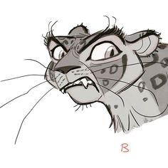 Mmmgggreooow!  #leopard #animaldesign #characterdesign #animationart #animationwork #digitalart #animal #bigcat