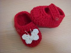 Crochet mary janes(sandals) €6.50 from Adverts.ie #babyshoes #tinyfeet