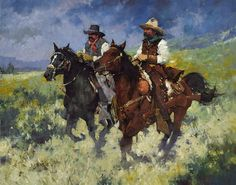 CMDudash - art shows Cowgirl And Horse, Cowboy Art, Western Theme, Western Art, Western Cowboy, World Oil, Cowboy Images, Wolf Ears, Heritage Museum