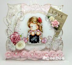 Di DeeDee Magnolia Art: ♥ Scrivi un massaggio Tilda con video Colorazione ♥
