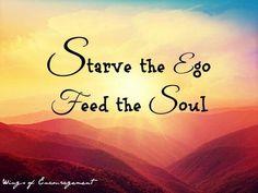 No to egoism