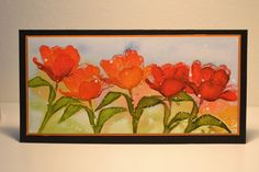 Tulips by Micheline Jourdain, invited artist, Magenta