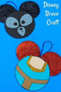 Disney Diy, Brave Disney, Disney Cruise, Merida Disney, Disney Ideas, Disney Trips, Disney Crafts For Adults, Easy Crafts For Kids, Kid Crafts
