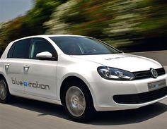 VW Golf Blue e-Motion (© Volkswagen)