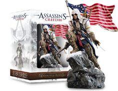 Estatua Assassin´s Creed III. Connor Rises 25 cm. Versión Freedom. Ubisoft