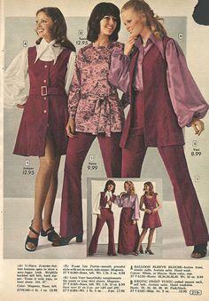 Aldens Catalog 70s Seventies Fashion Vintage Dresses Teen