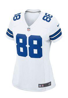 Dez Bryant Womens Dallas Cowboys Game Football Jersey - White - 41020667 6cb66d49a