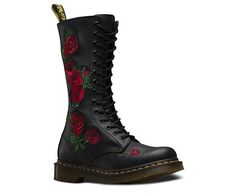1) Love the combat boot style with the pretty rose embroidery detail. Plus, quality leather materials. 2) Would wear with more casual outfits, but might even be able to dress up with the right dress or skirt/top. 3) I have not seen a similar item at JCP.