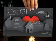 Lovejoy - Music & Event Flyer by andersdenkend , via Behance