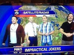 Impractical Jokers on Fox5