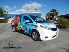 DesertWraps.com offers van wrap services for deserts in Palm Desert, Palm Springs, La Quinta, Riverside, Temecula and beyond. 760-935-3600
