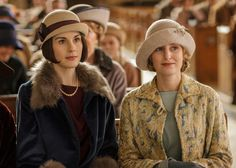 It's all about new and old suitors for the daughters of Downton.