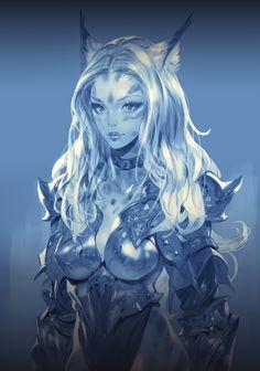 ArtStation - GIRL, Ham Sung-Choul(braveking) Fantasy Art Women, High Fantasy, Anime Fantasy, Fantasy Girl, Female Character Concept, Female Character Inspiration, Fantasy Inspiration, Character Art, Fantasy Characters