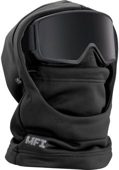 Shop the Men's Anon MFI Hooded Balaclava along with more neck warmers and winter accessories from Winter 2019 Winter Hiking, Winter Gear, Winter Boots, Tactical Clothing, Tactical Gear, Tactical Jacket, Taktischer Helm, Estilo Hipster, Cold Weather Gear