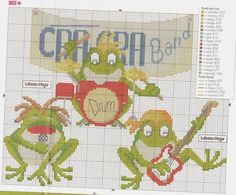 Gallery.ru / Фото #122 - κλεομε - ergoxeiro Perler Beads, Cross Stitch Patterns, Kids Rugs, Crafty, Free, Stitches, Graphics, Facebook, Gallery