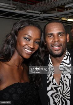 Model Oluchi and recording artist R. Kelly pose for a picture backstage at ARISE Africa Fashion Awards at Sandton Convention Center on June 2009 in Johannesburg, South Africa. Get premium, high resolution news photos at Getty Images Africa Fashion, Celebs, Poses, News, Artist, Pictures, Image, African Fashion, Celebrities