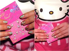 Cienistość.pl: Color Club nailpolishes – perfect white, awesome pink and epic holo. Plus some nail art!