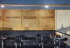 The Hindenburg Smoking Room.