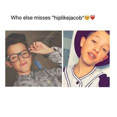 "I do, but I also love ""Jacob sartorius"" so much ❤️"