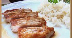 Receta de secreto de cerdo con una salsa deliciosa, paso a paso Tapas, Lunch Items, Meat Lovers, Spanish Food, Spanish Recipes, Pork Recipes, Recipies, Soul Food, Bacon