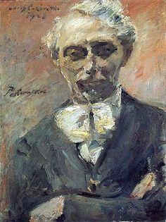 1923 by Lovis Corinth (1858~1925), 'Portrait of the Painter Leonid Pasternak' | Hamburger Kunsthalle, Germany