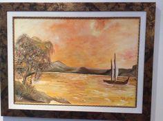 Outra pintura a óleo.