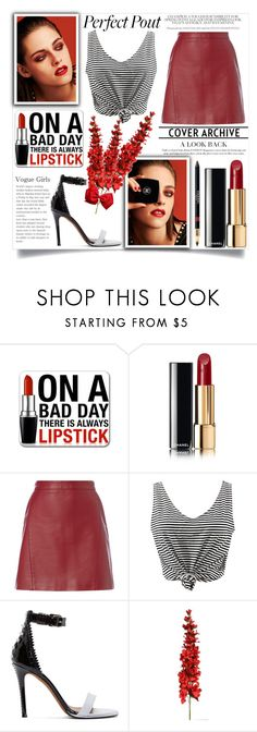 """kristen stewart"" by teo-fox on Polyvore featuring Chanel, WithChic, Givenchy and red"