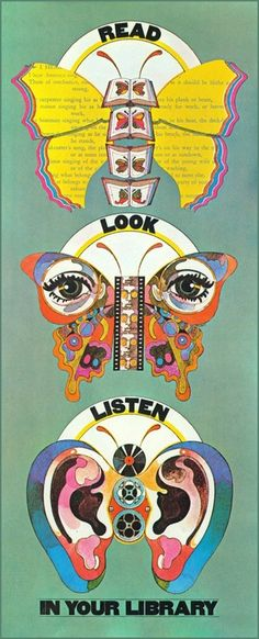 1968 National Library Week poster