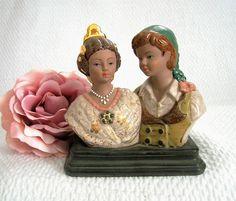 Biscuit de personnages porcelaine espagnole par VintageSyell