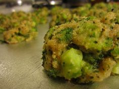 """So I wanted to make something different for dinner, make a vegetable a little more """"fun"""" for the kids. I came across this recipe for Broccol. Broccoli Cheese Bites, Something Different For Dinner, Run Happy, Guacamole, Side Dishes, Healthy Living, Goodies, Appetizers, Favorite Recipes"""