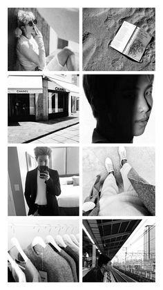 RM in grey #KimNamjoon #BTS #aesthetic