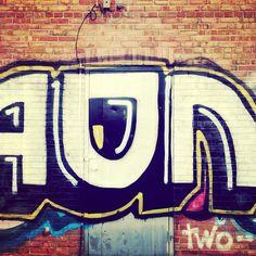 Building over by the #holidayinn #graffiti #urban