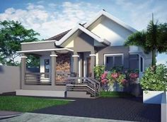 Beautiful Mobile Home, Exterior Design, House Elevation, Compact, Goals