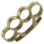 Real Brass Fist Duster Paper Weight Knuckle Buckle-Perfect paperweight in the office or around the house. Screw in the buckle pin and transform this k Finger Knuckles, Knife Tattoo, Tactical Pocket Knife, Self Defense Weapons, Brass Knuckles, Glass Breaker, Hard Metal, Metal Casting, Brass Color
