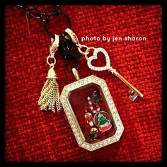 Origami Owl Holiday 2014 collection.  Heritage locket.  #emeraldcitycharms