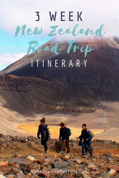 New Zealand Road Trip Itinerary || 3 Weeks in New Zealand || New Zealand Adventure Itinerary || Outdoor Adventure in New Zealand || New Zealand Outdoorsy Trip Itinerary || Road Trip in New Zealand ||