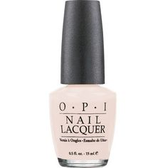 OPI Soft Shades Nail Lacquer - Bubble Bath (15ml) (430 CZK) ❤ liked on Polyvore featuring beauty products, nail care, nail polish, opi nail lacquer, opi nail polish, opi nail color and bubble bath