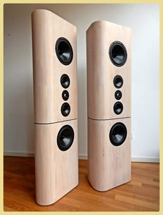 Linie 44 made by Jo – Lautsprecher selber bauen - Andreas Mustermann- Open Baffle Speakers, Pro Audio Speakers, Monitor Speakers, Diy Speakers, Hifi Audio, Bluetooth Speakers, Acoustic Design, Audio Design, Speaker Design