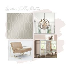 This stunning, luxurious design is brought to you by I Love Wallpaper.  For more colours and similar designs visit ilovewallpaper.co.uk #homedecor #wallpaper Interior, Wallpaper, Foyer Flooring, Design Your Kitchen, Home Decor, Trellis, Trellis Wallpaper, Love Wallpaper, Wallpaper Uk