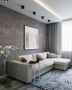 15 Awesome Modern Sofa Design Ideas ~ Home Decor Journal Small Living Rooms, Living Room Sofa, Home Living Room, Interior Design Living Room, Living Room Designs, Apartment Interior, Apartment Design, Classy Living Room, Modern Sofa Designs