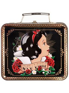 Snow White Tattooed Lunch Box at PLASTICLAND