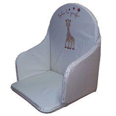 Coussin De Chaise Pvc Sophie La Girafe Beige De Babycalin Baby