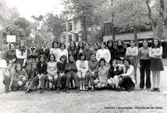 Grupo de alumnas del Instituto Getxo, 1971 (Cedida por Fidel Caballero) (ref. 05185)