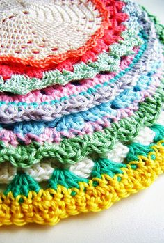 vintage potholder how-to6  ༺✿ƬⱤღ  https://www.pinterest.com/teretegui/✿༻