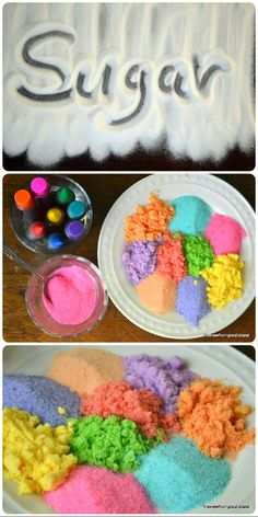HOW TO MAKE COLORED SUGAR! THE VIEW FROM GREAT ISLAND
